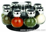 glass salt and pepper shaker set